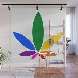 Magic Leaf Wall Mural