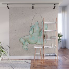 Solitary Wall Mural