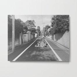 Tokyo, Japan Street Model Metal Print
