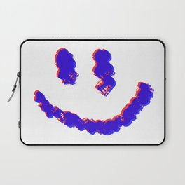 3D Smiley Face Laptop Sleeve
