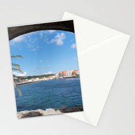 The View To Curacao Stationery Cards
