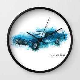 76 FORD Gran Torino Wall Clock