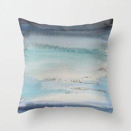 seasky - storm´s coming Throw Pillow