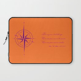 Rememberance, orange Laptop Sleeve
