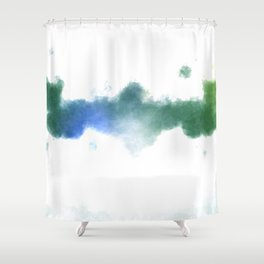 His Demise Shower Curtain