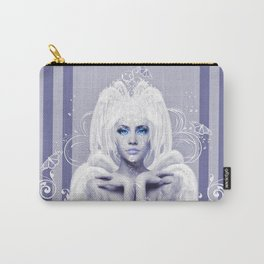 The Elegance of White Carry-All Pouch