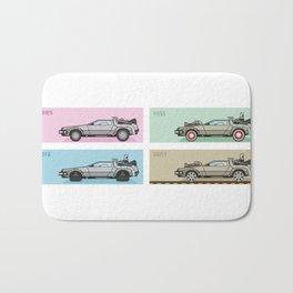 Back to the Future - Delorean x 4 Bath Mat