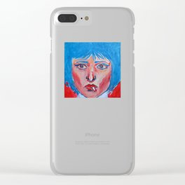 Siouxsie  Clear iPhone Case