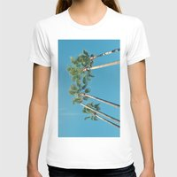 palm tree T-shirts featuring Palm tree by Laura James Cook