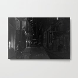 Alley in Canal St. Metal Print
