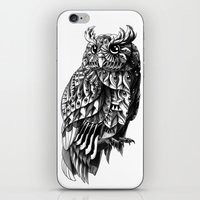 bioworkz iPhone & iPod Skins featuring Owl 2.0 by BIOWORKZ