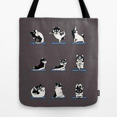 Husky Yoga Tote Bag