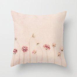 Cameo pink Throw Pillow
