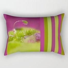 Drops Moss germ Rectangular Pillow