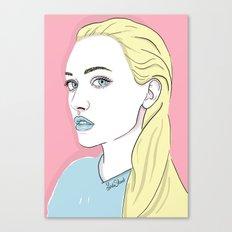 Pastel candy Canvas Print