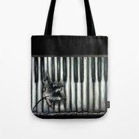 rustic Tote Bags featuring Rustic by Mandi Ward