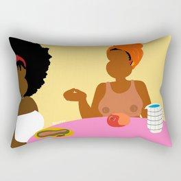 Breakfast For Two Rectangular Pillow