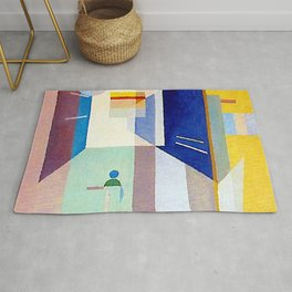 Wassily Kandinsky After Right to the Left Rug