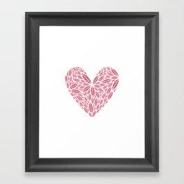 Crushes Framed Art Print
