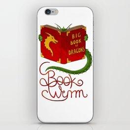 Book Wyrm iPhone Skin