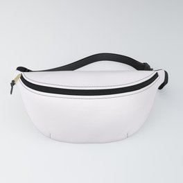 Pale Wisteria White 2018 Fall Winter Color Trends Fanny Pack