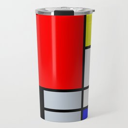 Mondrian Travel Mug