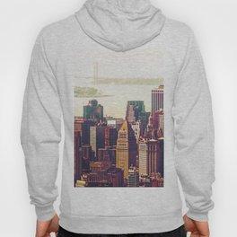 New York City Skyline Colors Hoody