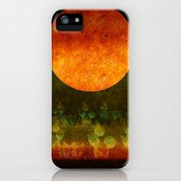 """Green Lemon & Golden Night Dream"" iPhone Case"