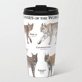 Lynxes of the World Travel Mug
