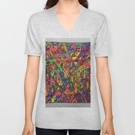 A Lecture in Color Unisex V-Neck