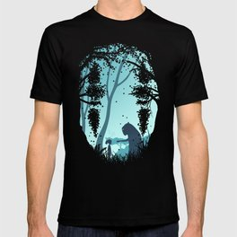 Lonely Spirit Spirited Away T-shirt
