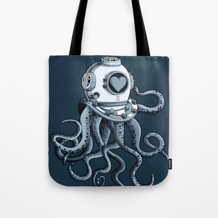 I'm falling in love with you? (blue gray) Tote Bag