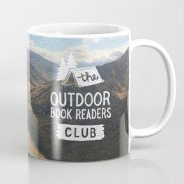 The Outdoor Book Readers Club Coffee Mug