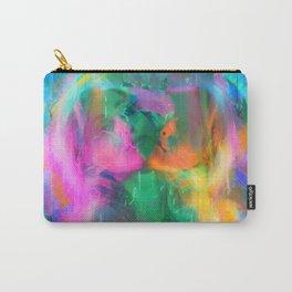 Glitch Mermaid Carry-All Pouch