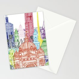 Melbourne Towers Stationery Cards
