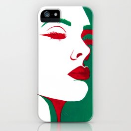 Marylin - Simple Beauty iPhone Case