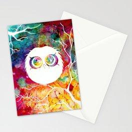 """Last Remaining Light"" Owl Stationery Cards"