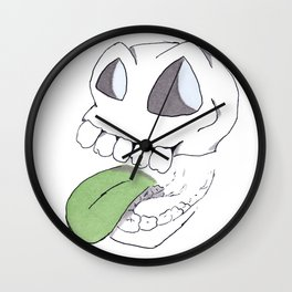 Slappy Skull Wall Clock