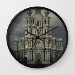 Postcards from Petersburg - Smolny Cathedal Wall Clock