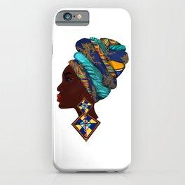 African woman,art. iPhone Case