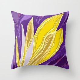 Leaflet's Descent Throw Pillow