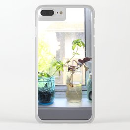 Kitchen Sill Clear iPhone Case