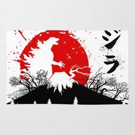 Kaiju in Fujiyama Rug