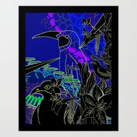 BIRDZ Art Print