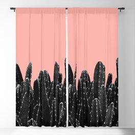 Black Cacti Dream #2 #minimal #decor #art #society6 Blackout Curtain