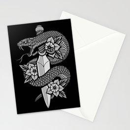 Snake & Dagger Stationery Cards