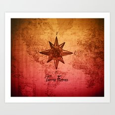 Terra Firma Art Print