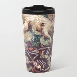 Dust Bunny Metal Travel Mug