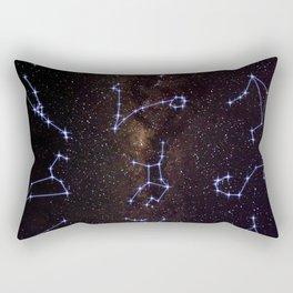 Zodiac Signs Rectangular Pillow