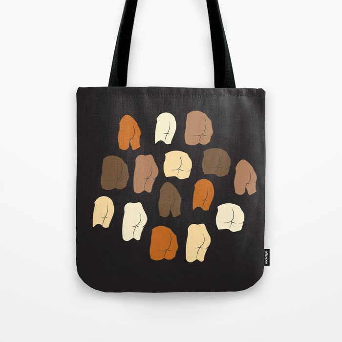 Beautiful Butts Tote Bag